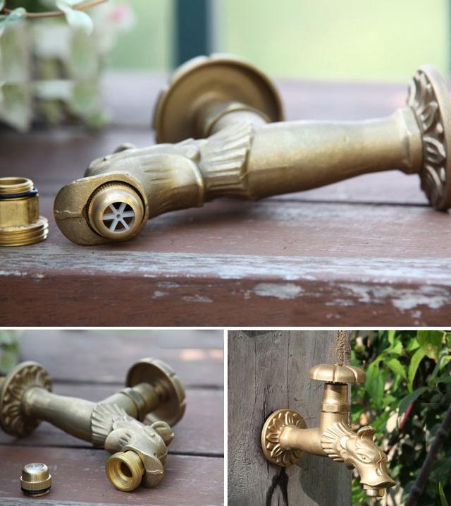 Vòi nước ngoài trời, cấp nước tưới cây cảnh,  sân vườn