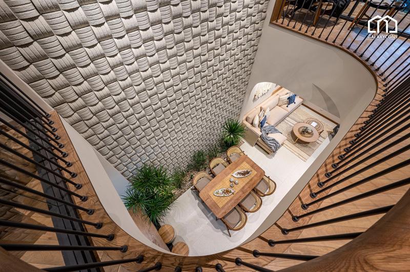 Không gian nội thất nhà mẫu Deluxe Green House thật sự tuyệt vời