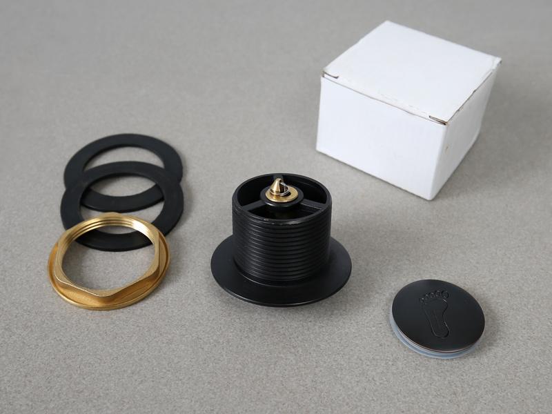 Bộ xả đóng gói trong hộp kèm hướng dẫn lắp đặt sử dụng