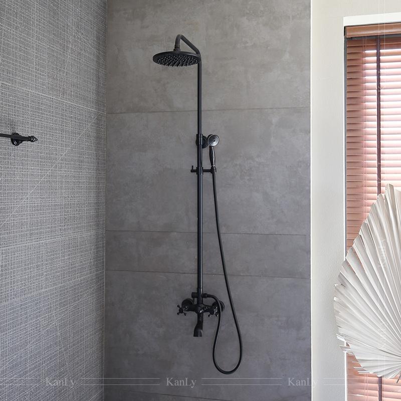 Vòi sen tắm đứng bằng đồng, kiểu cổ điển