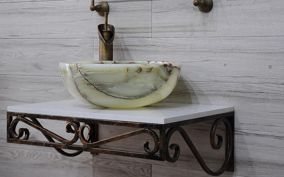 Kệ để lavabo, kệ mặt đá để chậu rửa, kệ lavabo đẹp