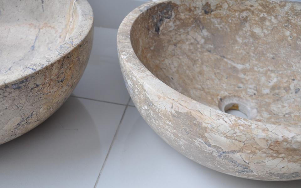 lavabo đá marble tự nhiên