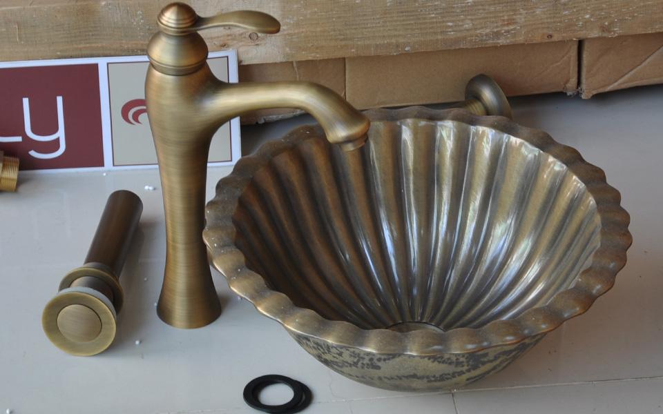 lavabo bằng đồng