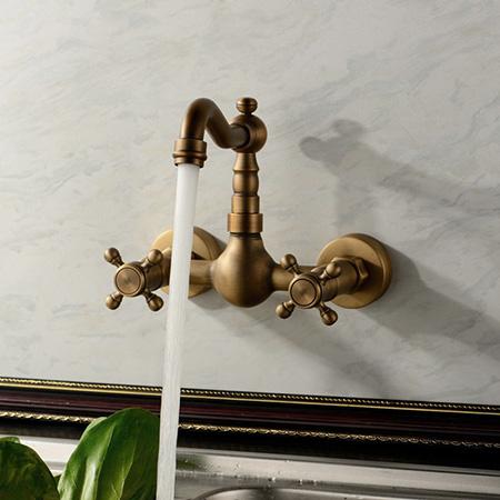 Vòi lavabo gắn tường, vòi rửa chén gắn tường, vòi bếp