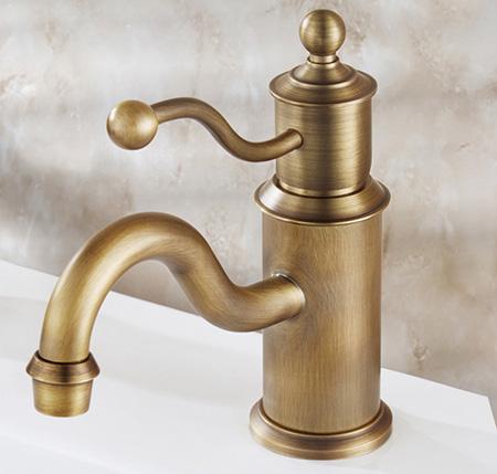 Vòi nước chậu rửa tay, bằng đồng thau
