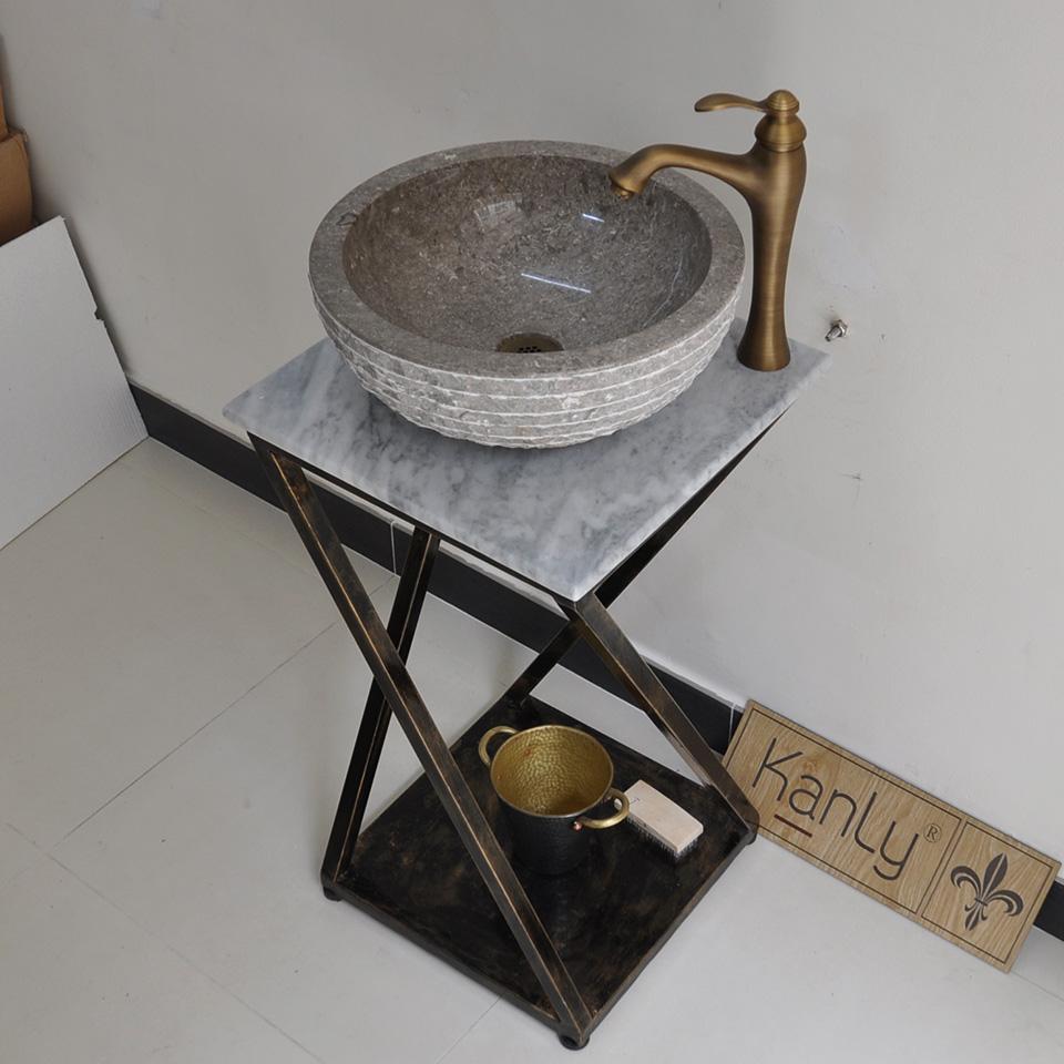 Khung sắt để lavabo, bệ để chậu rửa