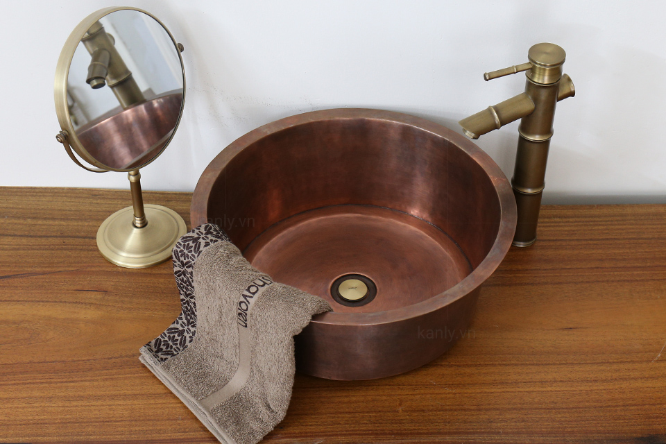 Bồn rửa bằng đồng RSC602