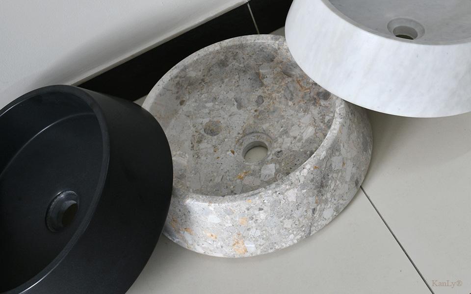 Lavabo đá nguyên khối, lavabo đá, lavabo bằng đá