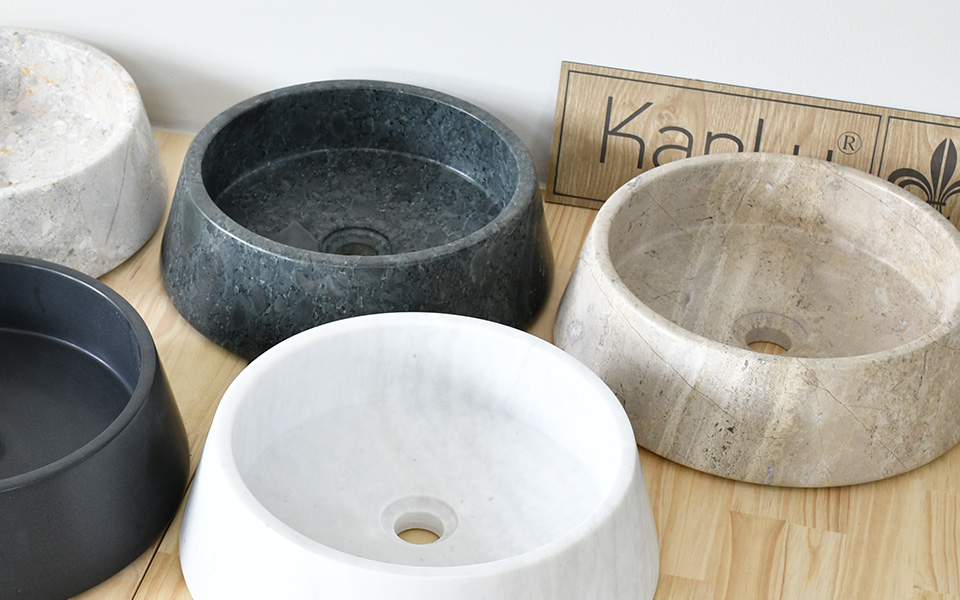 Lavabo đá nguyên khối, lavabo đá thiết kế nội thất, lavabo bằng đá,