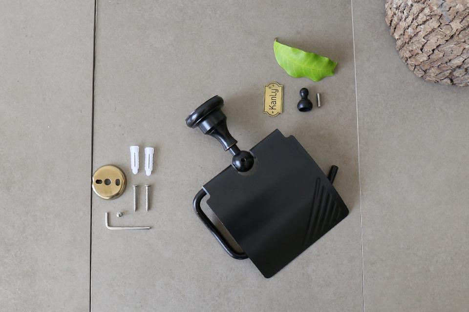 Tháo lắp móc treo giấy vệ sinh GCK03B