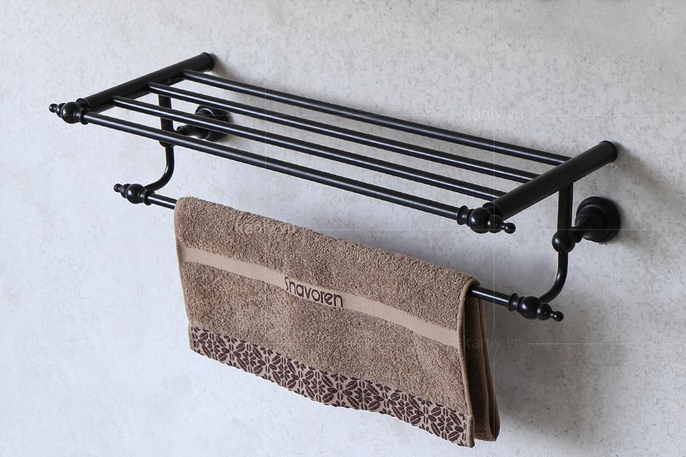 Giá treo khăn nhà tắm 2 tầng GCK13B