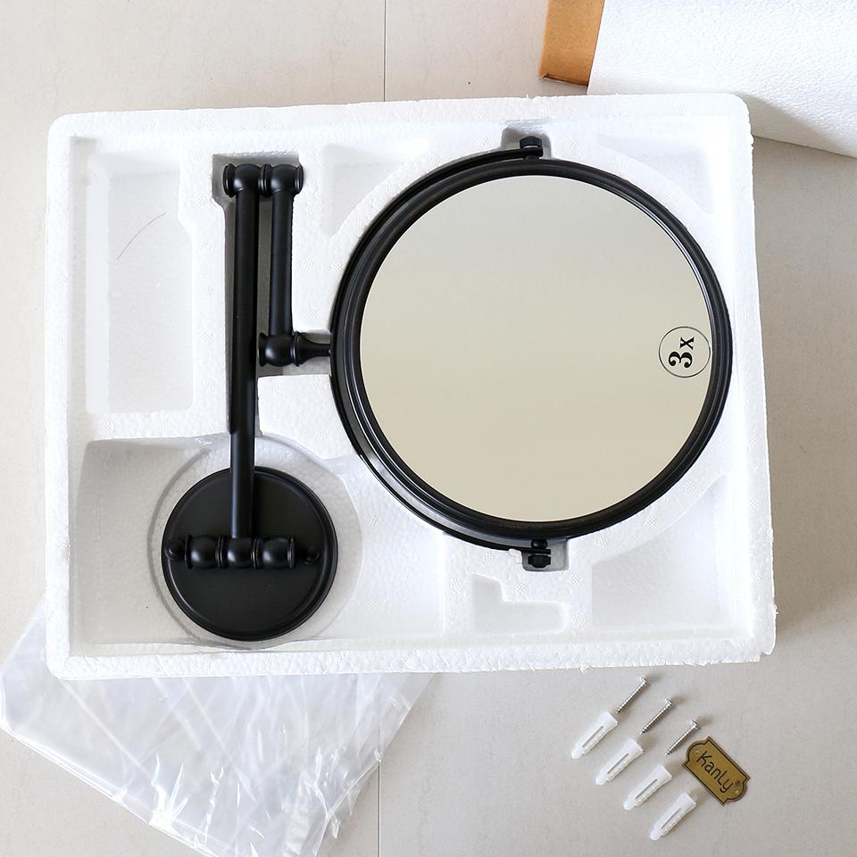 Mở hộp gương nhà tắm bằng đồng GCK18B