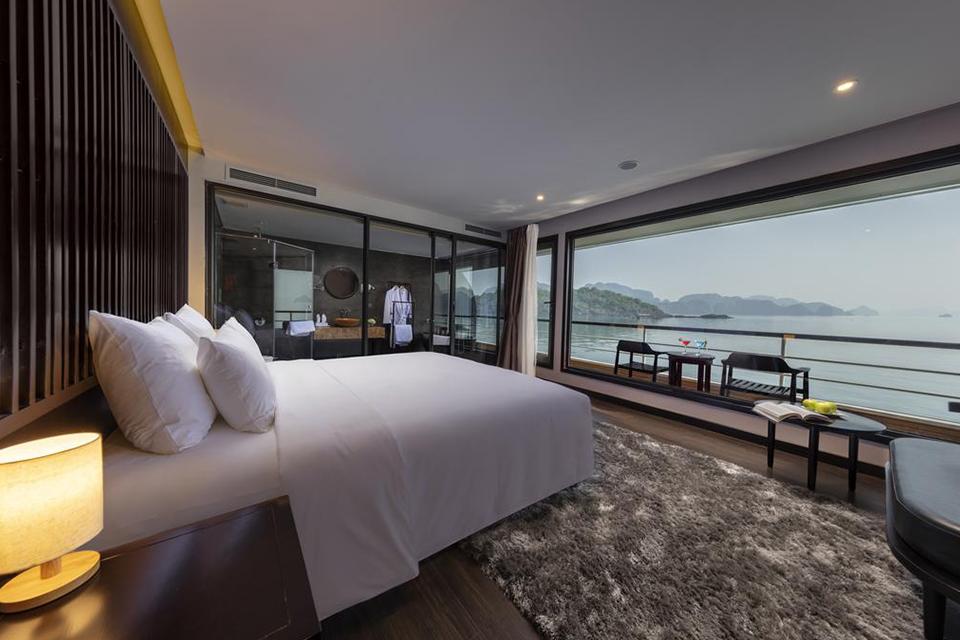 Phòng ngủ hướng biển trực quan