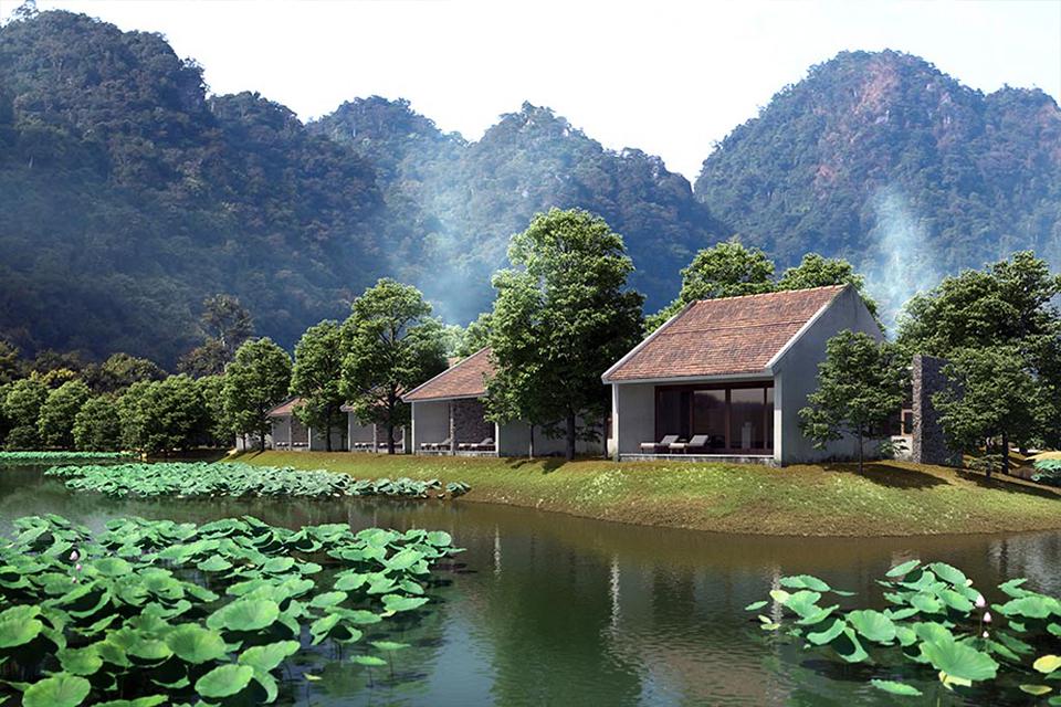 Phòng ốc tại Aravinda Resort