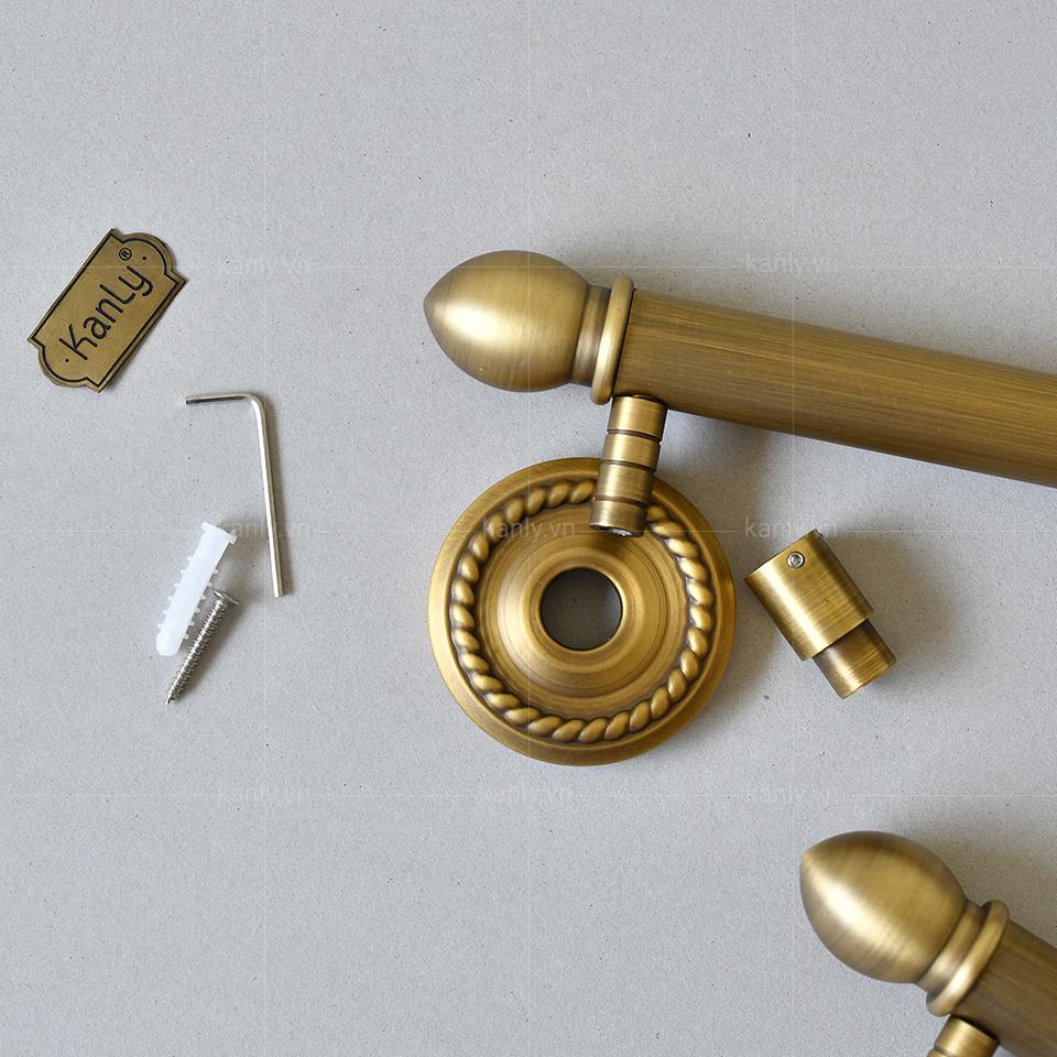 Vật liệu thanh trượt sen tắm tạo điểm nhấn độc đáo riêng biệt, loại bỏ tính công nghiệpnhàm chán