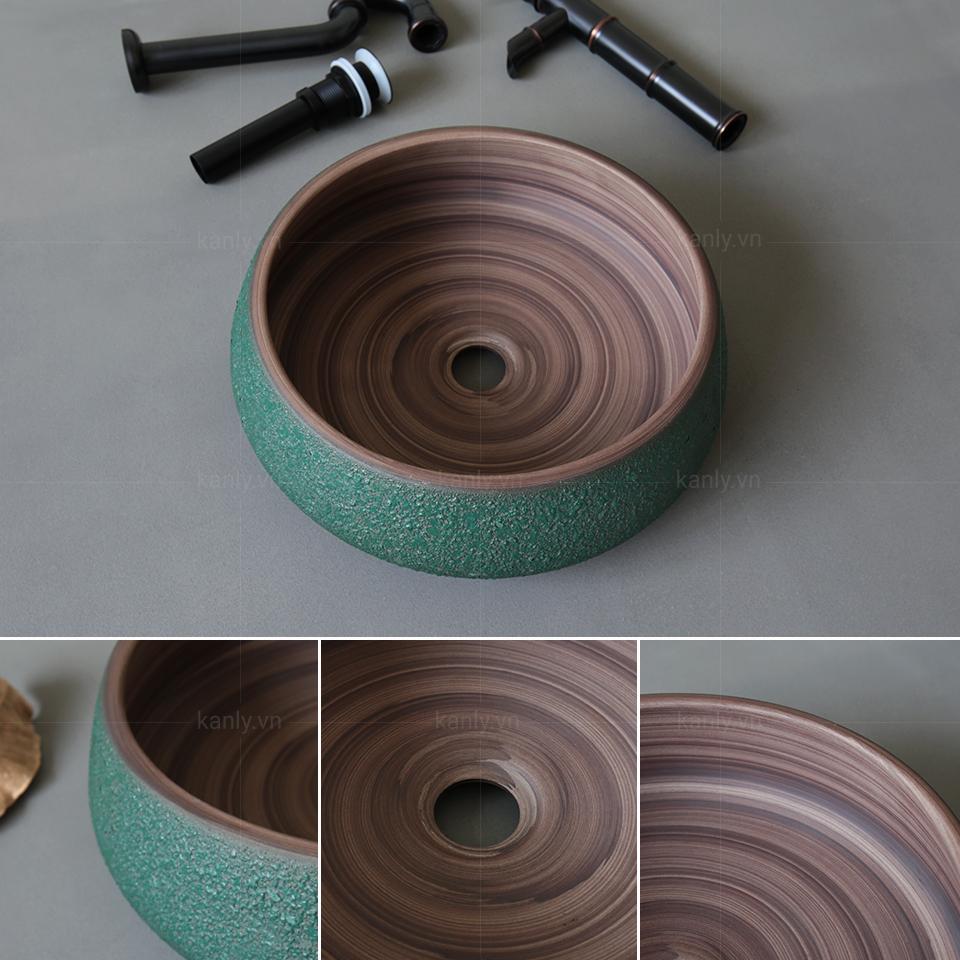 Phong cách thiết kế độc đáo riêng biệt của chậu rửa mặt lavabo sứ SU012