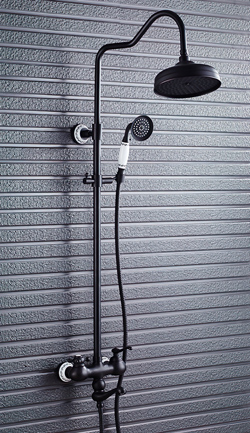 Vòi sen tắm đứng nóng lạnh GCS11B bằng đồng sang trọng