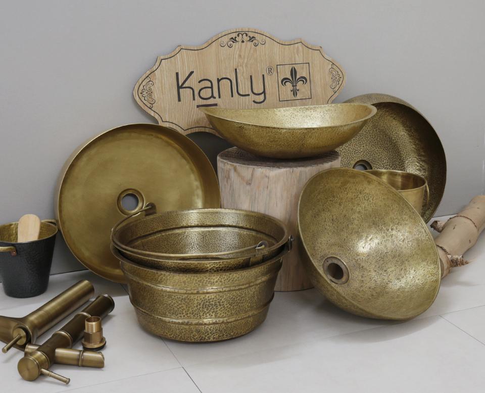 KanLy là đơn vị chuyên cung cấp bồn rửa tay đồng thau cổ điển
