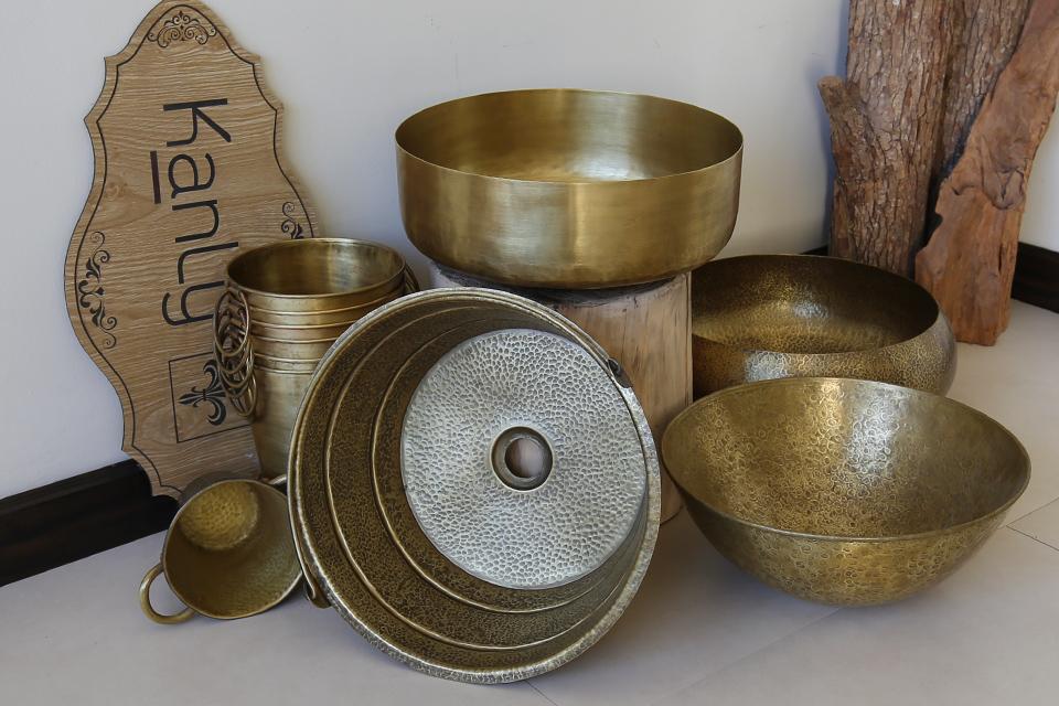Các loại bồn rửa tay bằng đồng thau KanLy cung cấp