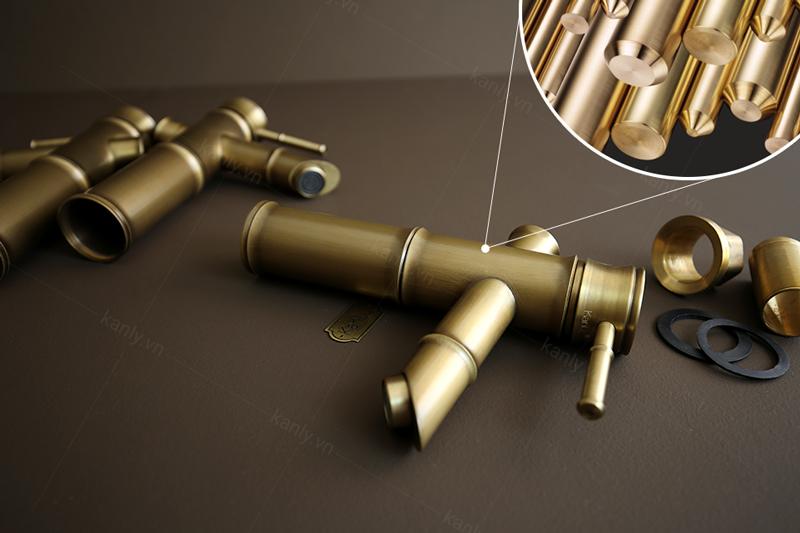 Vòi nước đồng thau chất lượng cao cấp