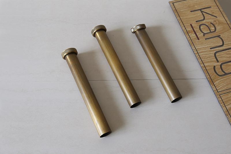 Ống nối đầu xả lavabo GCX01PK bằng đồng thau độc đáo