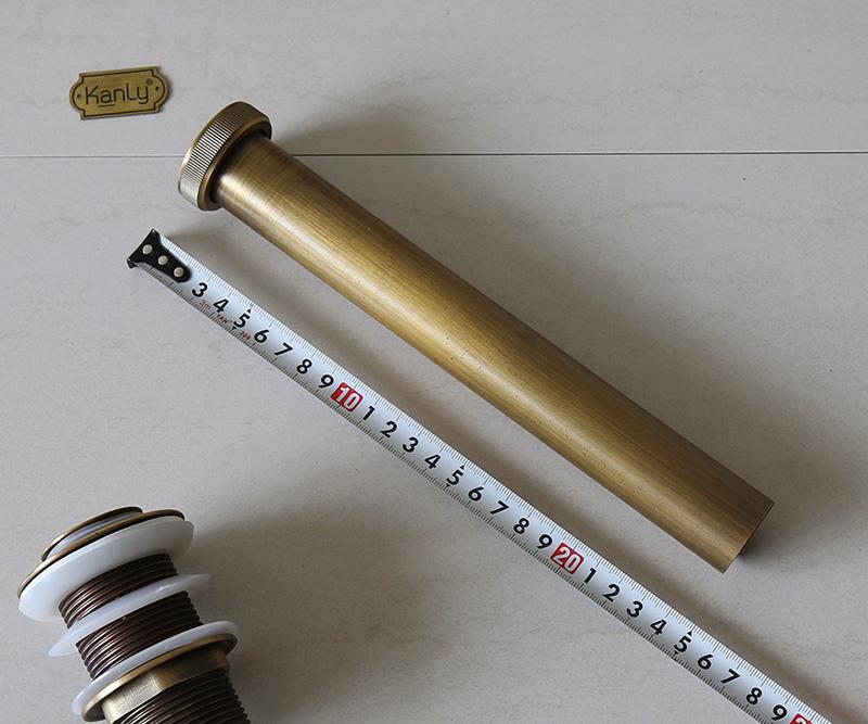 Ống nối dài cho ống xả bên dưới lavabo có chiều dài 25cm