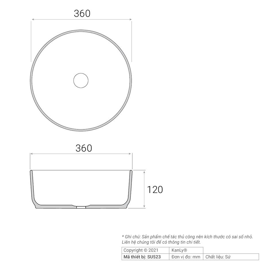 Cách lắp đặt lavabo màu trắng SU523 đúng kỹ thuật