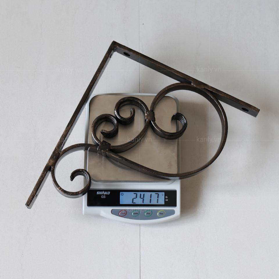 Trọng lượng giá đỡ kệ treo tường KanLy