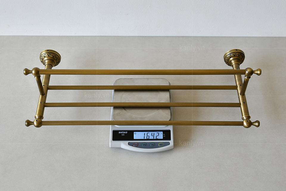 Trọng lượng kệ để khăn nhà tắm