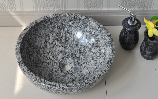 Lavabo đá Granite Tự Nhiên đá Nguyên Khối đá Phiến