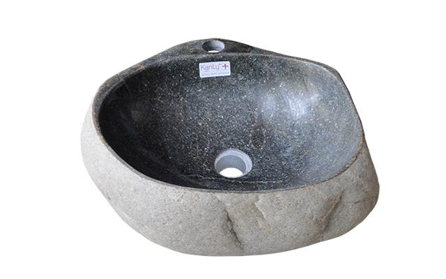 lavabo đá cuội tự nhiên