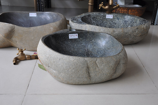 Lavabo đá cuội R15H