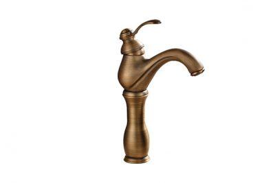 vòi nước rửa tay, bằng đồng thau, cổ điển