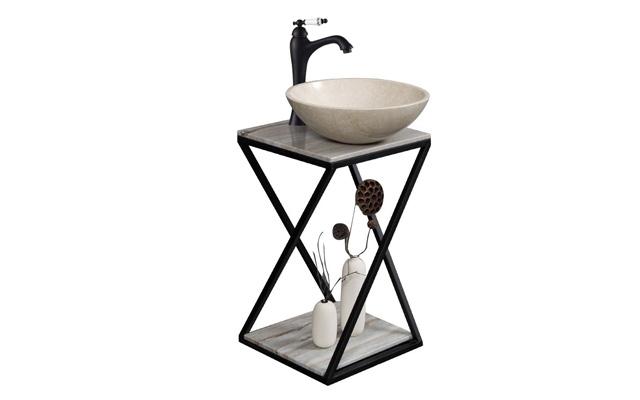 Khung sắt để lavabo, bệ để chậu rửa mặt