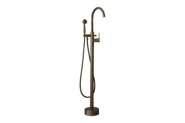 Vòi sen đặt sàn cho bồn tắm GCS09 tô điểm cho không gian nội thất phòng tắm thêm sang trọng, mang đến sự mộc mạc và thoải mái