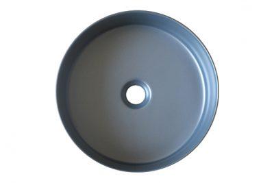 Chậu lavabo sứ màu xám SU527 với thiết kế tối giản, cạnh viền mỏng thể hiện sự tinh tế và mang phong cách sang trọng, lịch sự và nhã nhặn