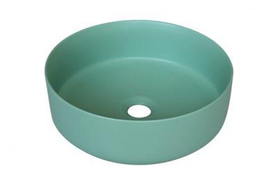 Lavabo tròn màu xanh ngọc SU526