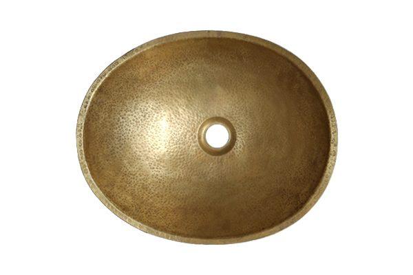 Bồn rửa tay bằng đồng RSC047V kiểu cổ