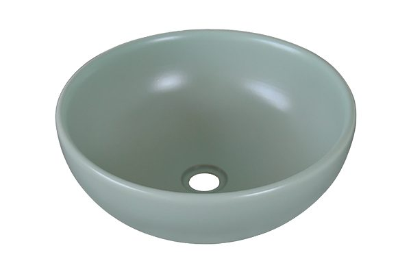 Lavabo sứ màu xanh ngọc SU516