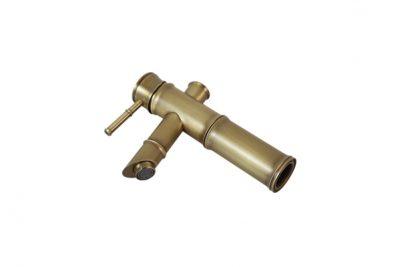 Vòi đồng đúc hình ống tre GCV02
